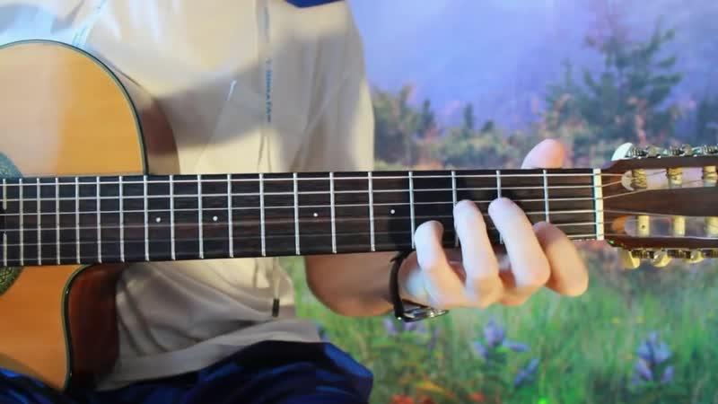 Зелёный Гитарист К Элизе на Гитаре РАЗБОР