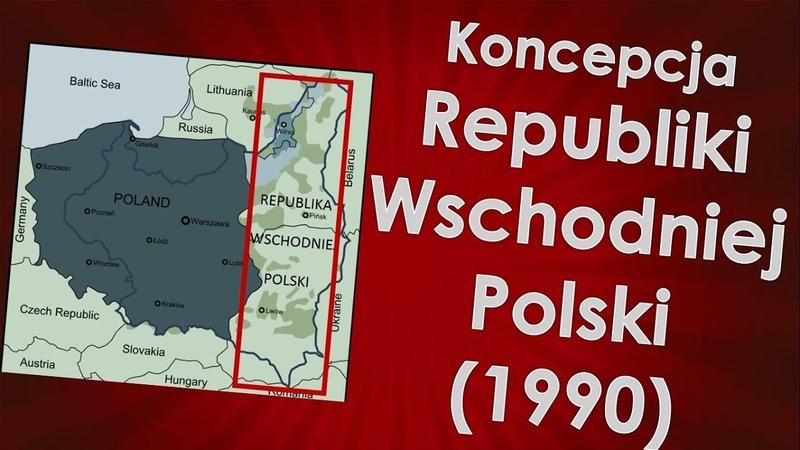 Dwie Polski na mapie świata Intrygujący pomysł z 1990 roku