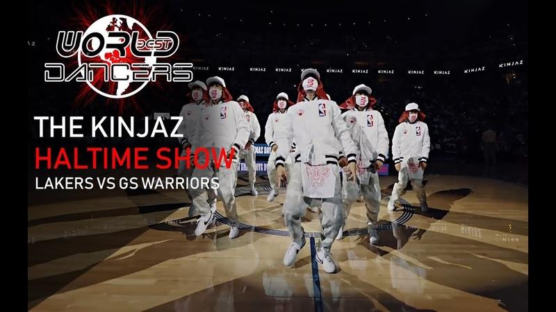 KINJAZ - ALIVE | Halftime Show | Lakers vs GS Warriors