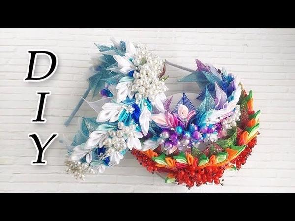 Красивый ободок с бусинами DIY от Nastya DoRo