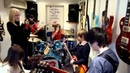 The Mini Band jam Sweet Child Of Mine with Callum Williams guesting on guitar
