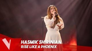 Conchita Wurst - 'Rise like a phoenix' ● Hasmik Shirinian  Lives   The Voice Belgique Saison 9