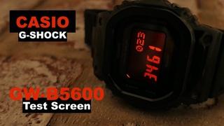 CASIO G-SHOCK GW-B5600 Exclusive Hidden test screen Tutorial
