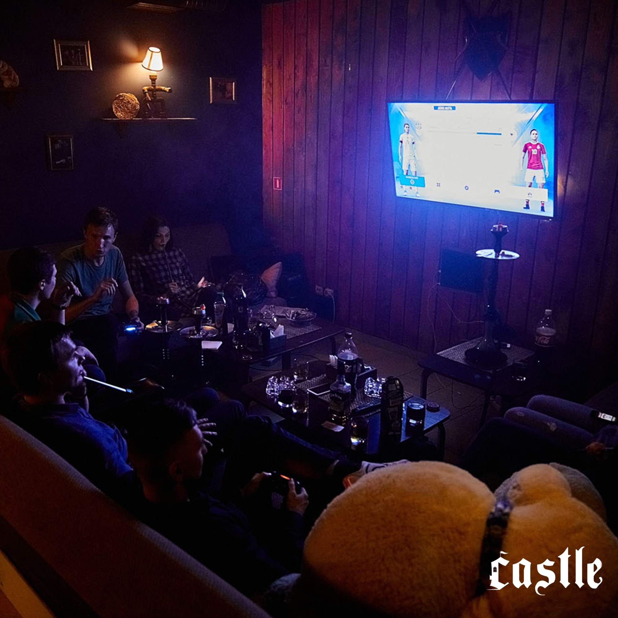 Кальянная, антикафе, бар «Castle» - Вконтакте