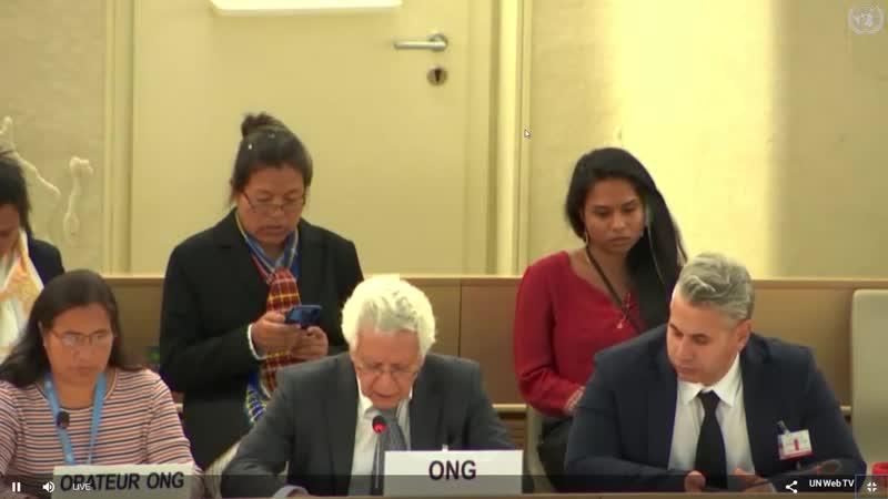 Hamid Sabi - China Tribunal - UN Human Rights Council 42nd Session