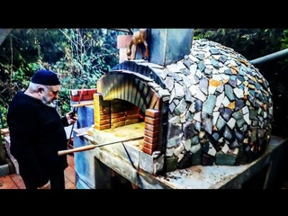 THE BEST VDEO!!! STONE OVEN WOOD-FRED Construction Video. AMAZNG!!! DIY