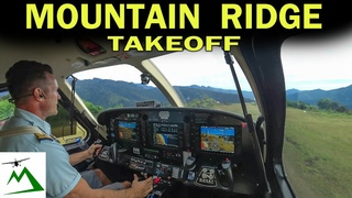 Kodiak Airplane Takeoff from a Mountain Top Runway in Papua New Guinea | Bush Pilot Flight Vlog