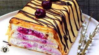 Отличная замена классическим тортам. Блинный торт.