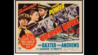 Срочное погружение (1943, США) Тайрон Пауэр, Энн Бакстер, драма, приключения, военный