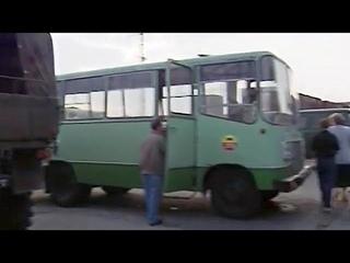 """Автобусы """"Прогресс-40"""" и """"Прогресс-35"""", ГСВГ-ЗГВ (1994) /""""Progress-40"""" and """"Progress-35"""" buses, GSFG"""