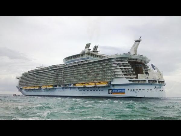Очарование морей Allure of the Seas cамый большой круизный лайнер в мире