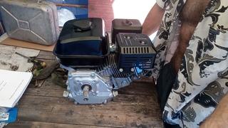 Двигатель LIFAN 170F D19 - Для мини трактора 4х4