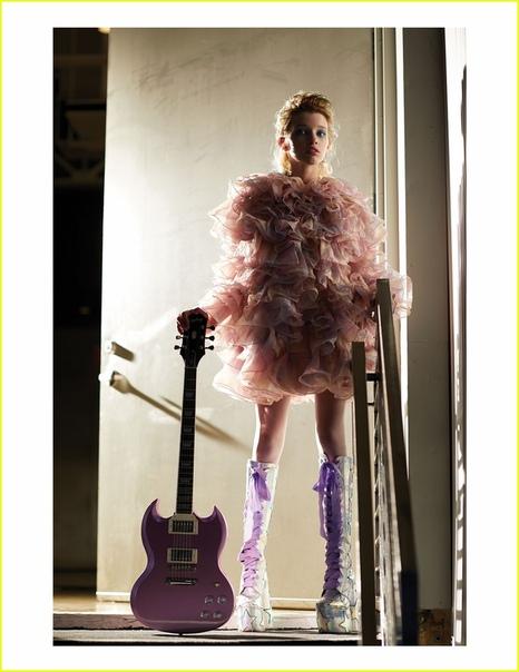Эвер Андерсон, дочь Миллы Йовович, со страниц свежего выпуска журнала Flaunt