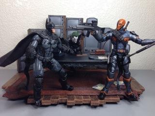 Batman Arkham Origins Batman & Deathstroke Batman Unlimited Video Game Action Figure Review