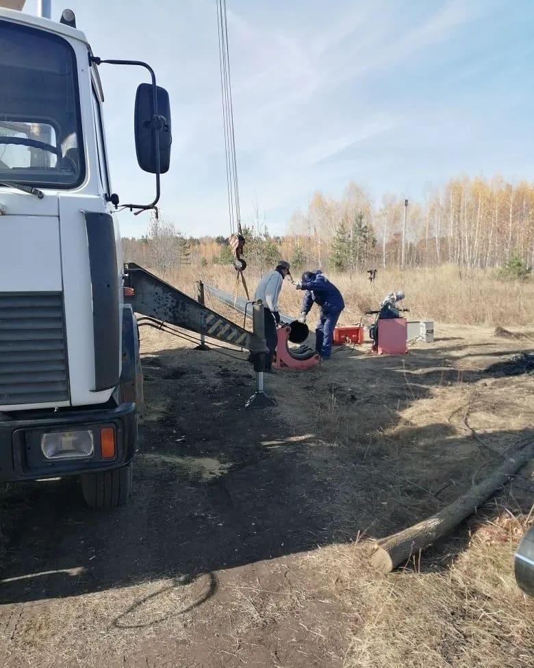 В районе Антиповки продолжаются коммунальные работы по замене магистрального водовода, идущего от водозобора в сторону Петровска