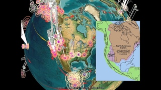 10/12/2020 -- EARTHQUAKE WATCH -- USA -- Plate goes into motion -- Pacific NW slow slip begins