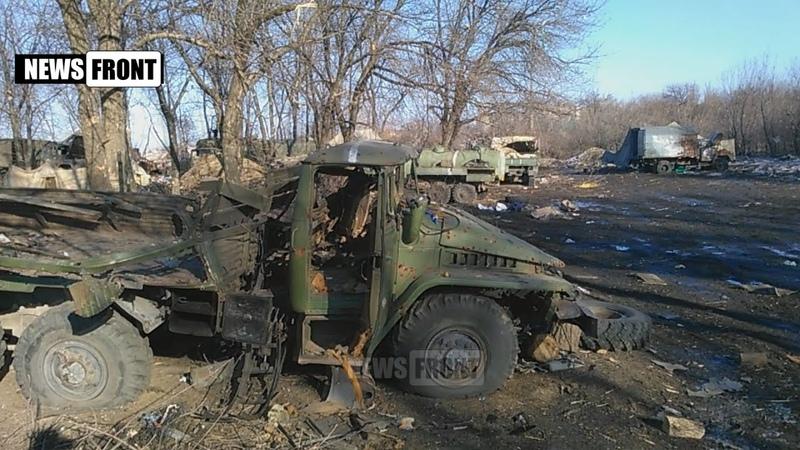 Дебальцевский котел разбитая база укронацистов
