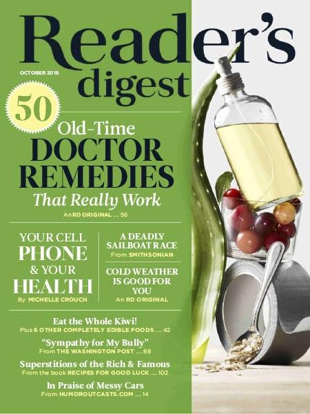 Reader's Digest USA 2018 10