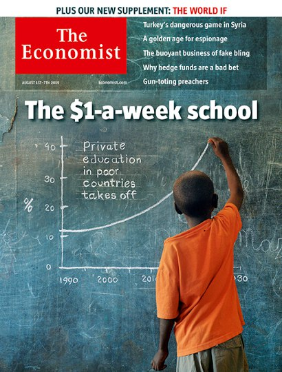 The Economist - Audio Edition (1 August - 7 August 2015)