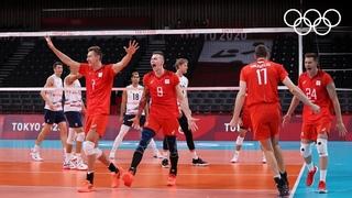 Мужская сборная ОКР по волейболу 🏐 героически обыграла американцев