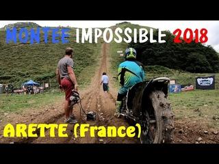 Montée impossible Hill Climb à Arette (France)