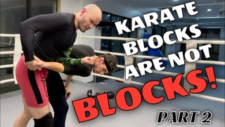 What are karate blocks for if they're not really blocks? Bunkai I use in MMA & other combat sports