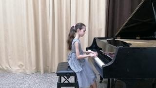 Куликова Катя 9 лет, Шопен Вальс оп.64 №1, Глинка Ноктюрн,Бах 3-хголосная инвенция, Бетховен Соната