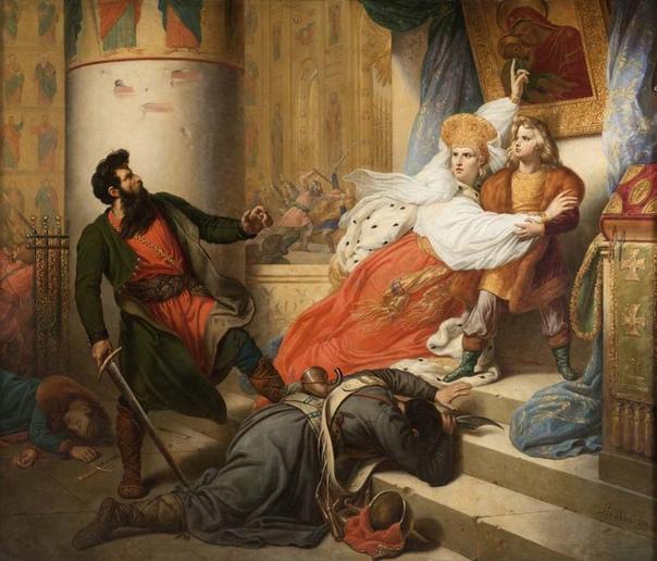 Петр I на картинах зарубежных художников, часть 2