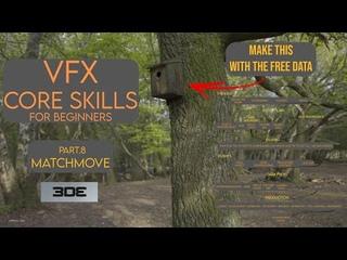 VFX Core Skills - Part 8 - Matchmove