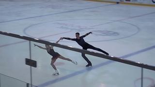 Анастасия Мишина - Александр Галлямов. Мастер-класс в Игоре