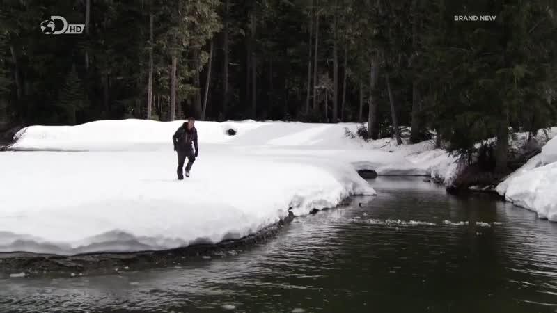 Беар Гриллс по стопам выживших Снег Эрик Лемарк 2 серия 720p