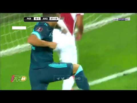 Gol de Lautaro Martínez Perú 0 2 Argentina Eliminatorias Qatar 2020