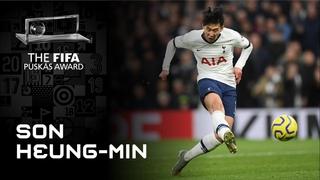 Son Heungmin Goal | FIFA Puskas Award 2020 Winner