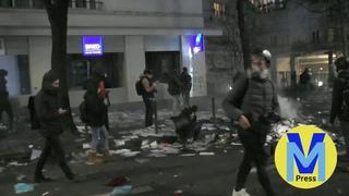 Tensions et incidents : manifestation contre la loi Sécurité globale (Paris 05/12/2020)