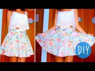 Еще один пример шитья юбки-солнце