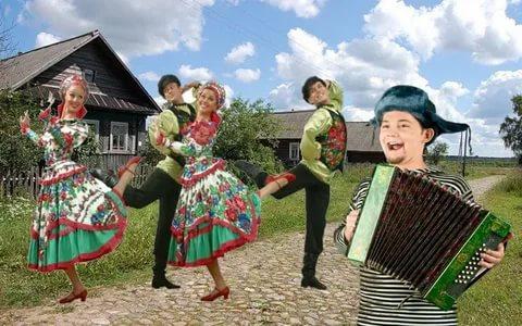 Шуточные плясовые русские народные песни