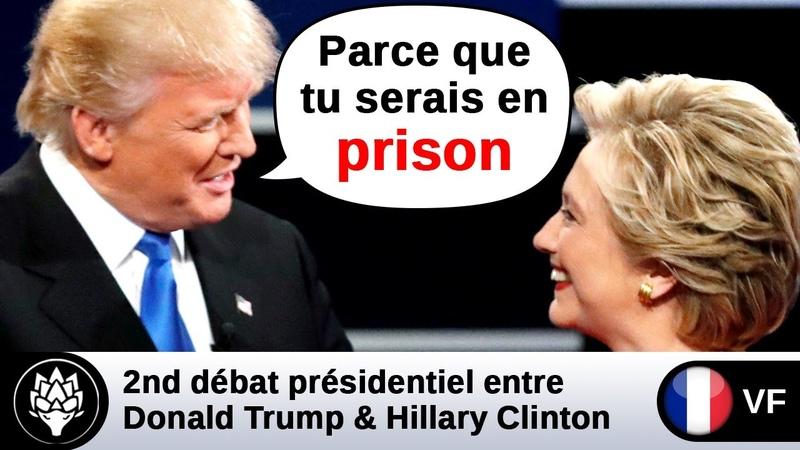 VF Trump suggère qu'Hillary Clinton aille en prison wikileaks