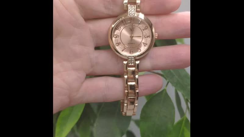 Часы 28р длина 2 8см кварцевые сплав Дубайское золото
