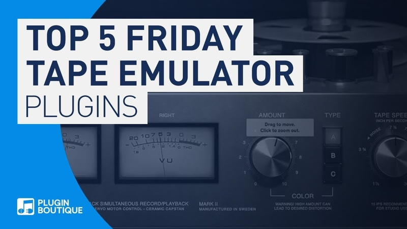 Top 5 Best Tape Emulation VST Plugins 2020 Top 5 Friday Real to Reel VST PLUGINS
