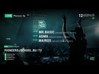 On-line трансляция pioneer dj tv   moscow среда 12 февраля