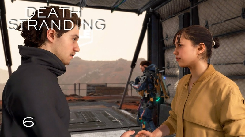 Прохождение Death Stranding [2K] ➤ Эпизод 6 Хиральная художница и старьевщик