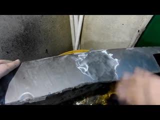 Как отремонтировать трещину на бампере