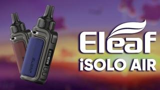 Идеальная затяжка и размер!   Обзор на Eleaf iSolo AIR