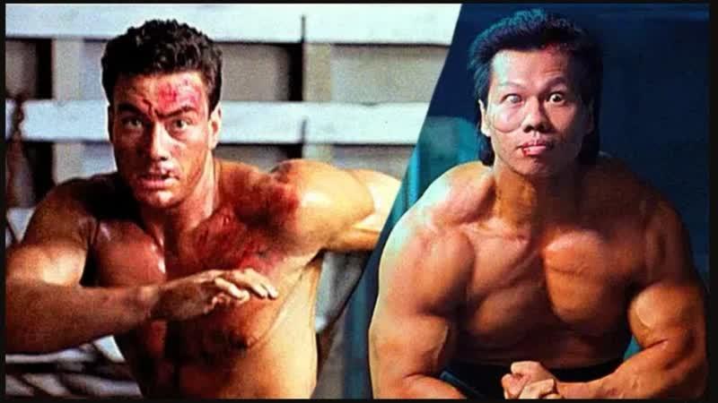 Двойной удар Double Impact 1991 год Финальная схватка на корабле Боевая сцена Жан Клод Ван Дамм Боло Йен Йенг Янг Ёнг