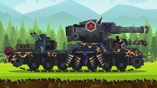 Как Нарисовать Танк МОНСТР КВ-6  - Мультики про танки