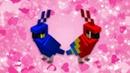 🐦Minecraft parrots wholesome dance meme 💖