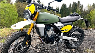 Fantic Caballero 500 Rally 2020 - Test Ride and Specs