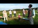 Жива здрава человека на Фестивале Музыкальная сказка в Родовом поселении Красная поляна