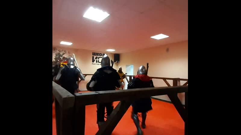 Общая железная тренировка Школ ИСБ в Ростове-на-Дону