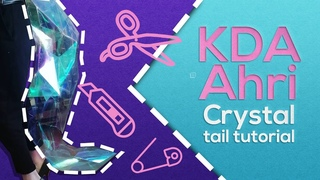 KDA Ahri tail tutorial